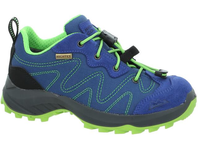High Colorado Vilan Zapatos para caminar bajos Niños, blue-lime